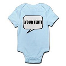 Word Bubble Personalize It! Body Suit
