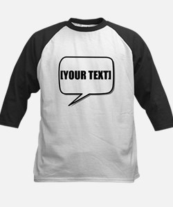 Word Bubble Personalize It! Baseball Jersey