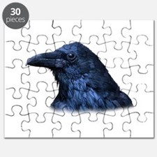 Portrait of a Raven Puzzle