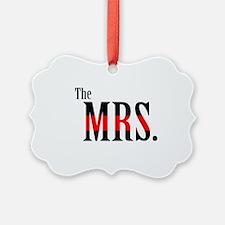 The Mrs. Fireman's Wife Tee Ornament