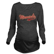 Minnesota Long Sleeve Maternity T-Shirt