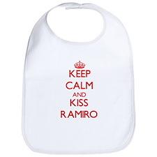 Keep Calm and Kiss Ramiro Bib