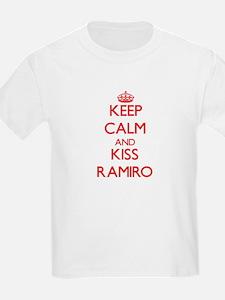 Keep Calm and Kiss Ramiro T-Shirt