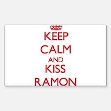 Keep Calm and Kiss Ramon Decal