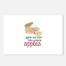 Like Them Apples Postcards (Package of 8)