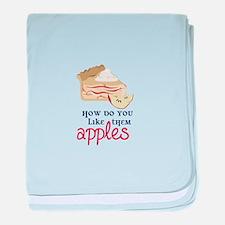 Like Them Apples baby blanket