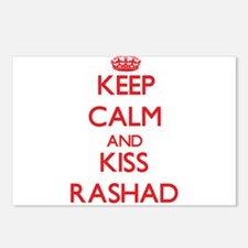Keep Calm and Kiss Rashad Postcards (Package of 8)