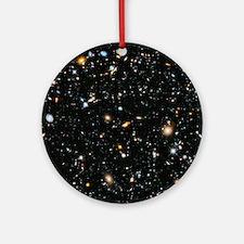Evolving Universe Round Ornament