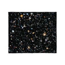 Evolving Universe Throw Blanket