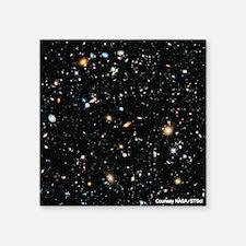 """Evolving Universe Square Sticker 3"""" x 3"""""""