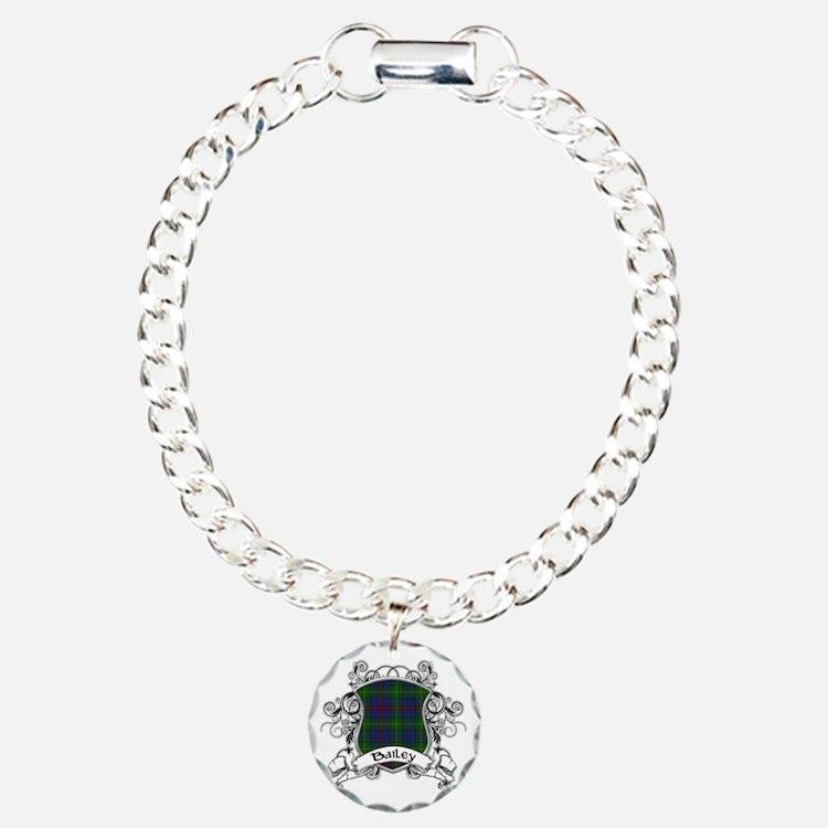 Bailey Tartan Shield Bracelet