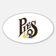 Pies Decal
