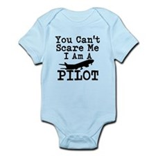 You Cant Scare Me I Am A Pilot Body Suit