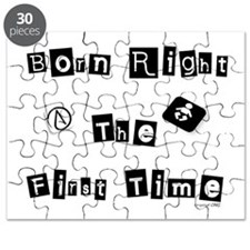 Born Right The First Time 1 Puzzle
