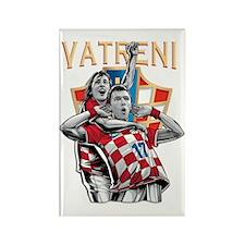 Croatia Soccer Hrvatska Nogomet Magnets