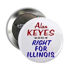 Alan Keyes for US Senate 2004 Button