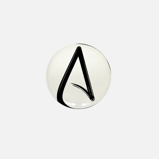 Atheist Symbol Mini Button (100 pack)