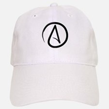 Atheist Symbol Baseball Baseball Baseball Cap