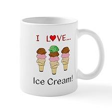 I Love Ice Cream Mug