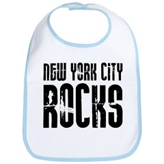 New York City Rocks Bib