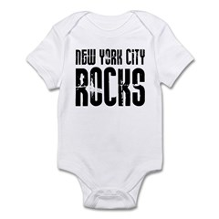 New York City Rocks Infant Bodysuit