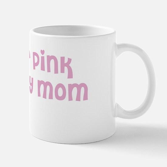 Wear pink for Allie Mug