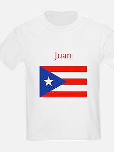 Custom Name Bandera Boriqua 23 Pahtay T-Shirt