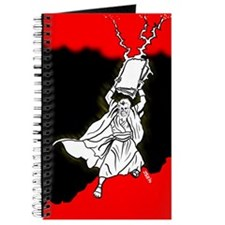 Moses In Red And Black Journal