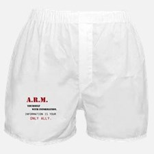 ARM Yourself Boxer Shorts