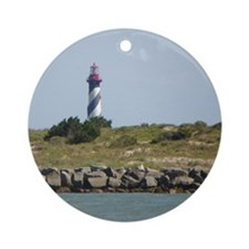Vilano View of St. Augustine Lighthouse Ornament (