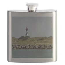 Vilano View of St. Augustine Lighthouse Flask