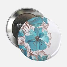 "Pretty Floral 2.25"" Button"