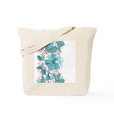 Pretty Floral Tote Bag