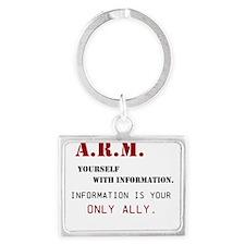 ARM Yourself Keychains