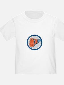 Diesel Train American Stars Stripes Retro T-Shirt