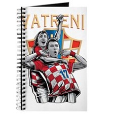 Croatia Soccer Vatreni Luka and Mario Journal