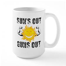 Suns Out Guns Out Summer Mugs