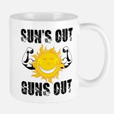 Suns Out Guns Out Summer Mugs