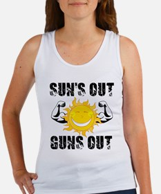 Suns Out Guns Out Summer Tank Top