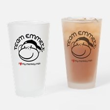 team emmett.png Drinking Glass