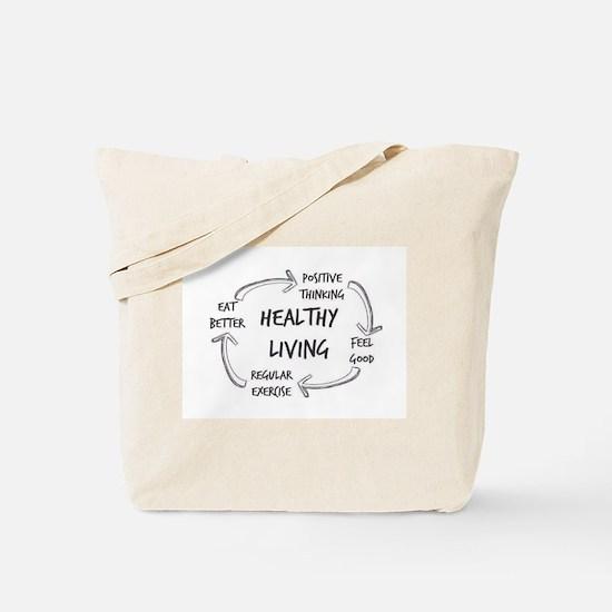 Healthy Living Tote Bag
