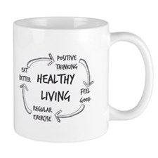 Healthy Living Mugs