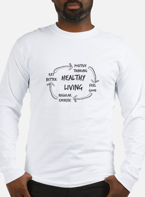 Healthy Living Long Sleeve T-Shirt