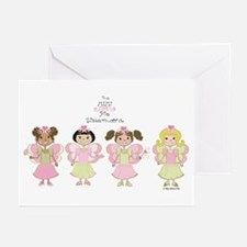MiMi Pie Sisters Greeting Cards (Pk of 10)