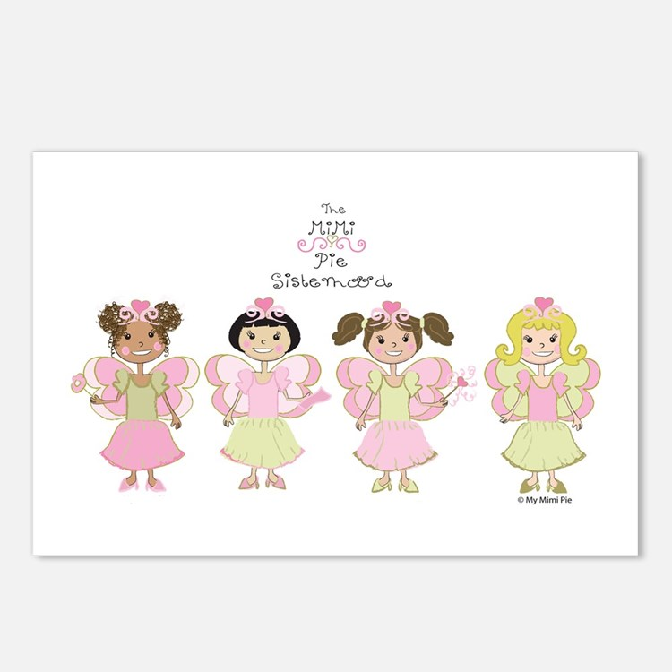 MiMi Pie Sisters Postcards (Package of 8)