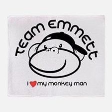 team emmett.png Throw Blanket