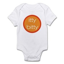 Itty Bitty - Orange Circle Infant Bodysuit