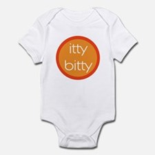 Itty Bitty - Orange Circle Infant Bodysuit