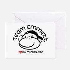 team emmett.png Greeting Cards