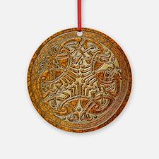 Cute Celtic knot Round Ornament